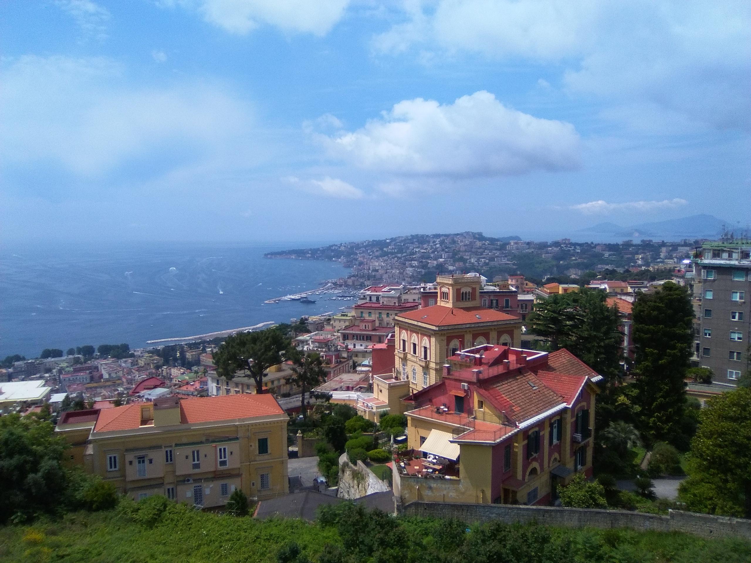 Neapol panorama